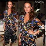 Alicia Vikander  In Preen at   the 2015 Ischia Global Film & Music Fest