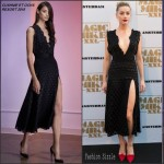 Amber Heard in Cushnie et Ochs at the 'Magic Mike XXL' Amsterdam Premiere