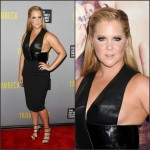 Amy Schumer In Dion Lee  at  'Trainwreck' New York Premiere