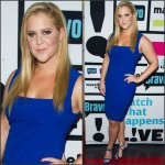 Amy Schumer In Narciso Rodriguez  at   Watch What Happens Live