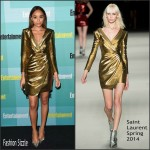 Ashley Madekwe  in Saint Laurent – Entertainment Weekly Party at Comic-Con in San Diego