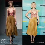 Bella Heathcote In Gucci –  Entertainment Weekly's Annual Comic-Con Party
