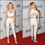 Bella Thorne in Tamara Mellon at the Thirst Gala
