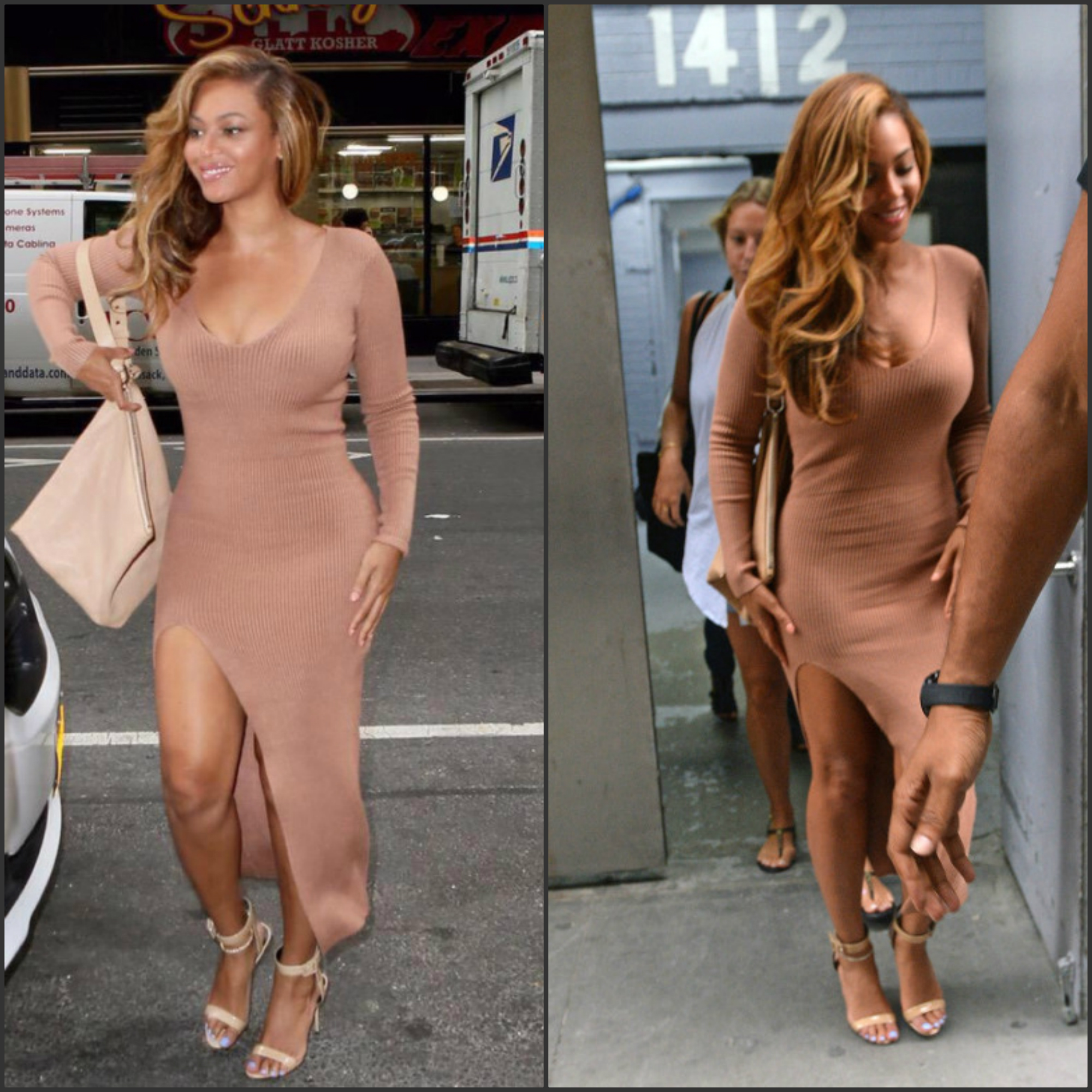 beyonce-in-self-portrait-dress-out-in-new-york