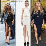 Beyonce in Self-Portrait   Out in New York
