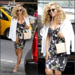 Beyonce Knowles In Dolce & Gabbana – Out In New York City