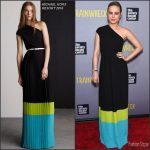 Brie Larson In Michael Kors  at  'Trainwreck' New York Premiere