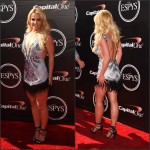 Britney Spears In Davidson Zanine  at the  2015 ESPYS