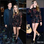 Cara Delevingne In Giamba  at 'Paper Towns' Toronto Premiere