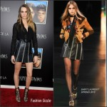 Cara Delevingne in Saint Laurent  – 'Paper Towns' Live Stream Concert & Screening