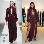 Chanel Iman in Zimmermann – Zimmermann Melrose Place Flagship Store Opening