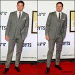 Channing Tatum in  Dolce & Gabbana  – 'Magic Mike XXL' Premiere in Sydney