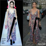 Chrissy Teigen  in Giorgio Armani – Vogue Paris Foundation Gala