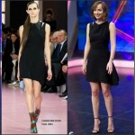 Dakota Johnson in Christian Dior on the 'El Hormiguero' TV Show