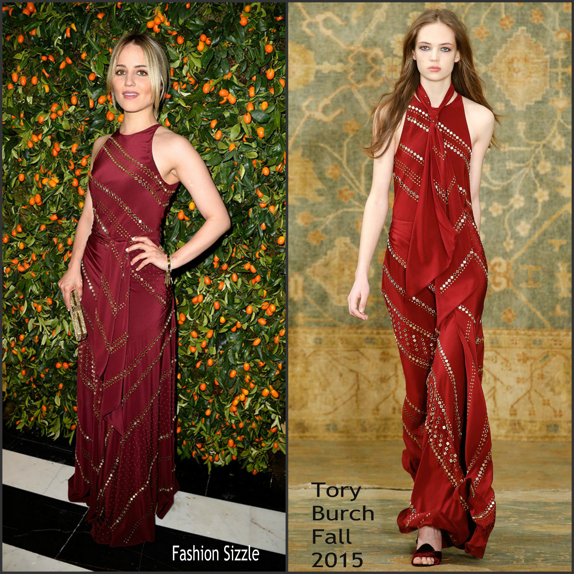 dianna-agron-in-tory-burch-at-tory-burch-paris-flag-opening