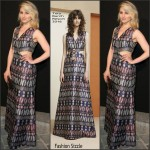 Dianna Agron  in Tory Burch at the Vogue Paris Foundation Gala 2015