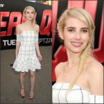 Emma Roberts In  Line and Dot   – 'Scream Queens' Photocall  2015 Comic-Con