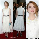 Emma Stone In Giambattista Valli  at  'Irrational Man' LA Premiere