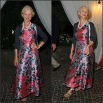 Helen Mirren In L.K. Bennett– 2015 Ischia Global Film & Music Fest