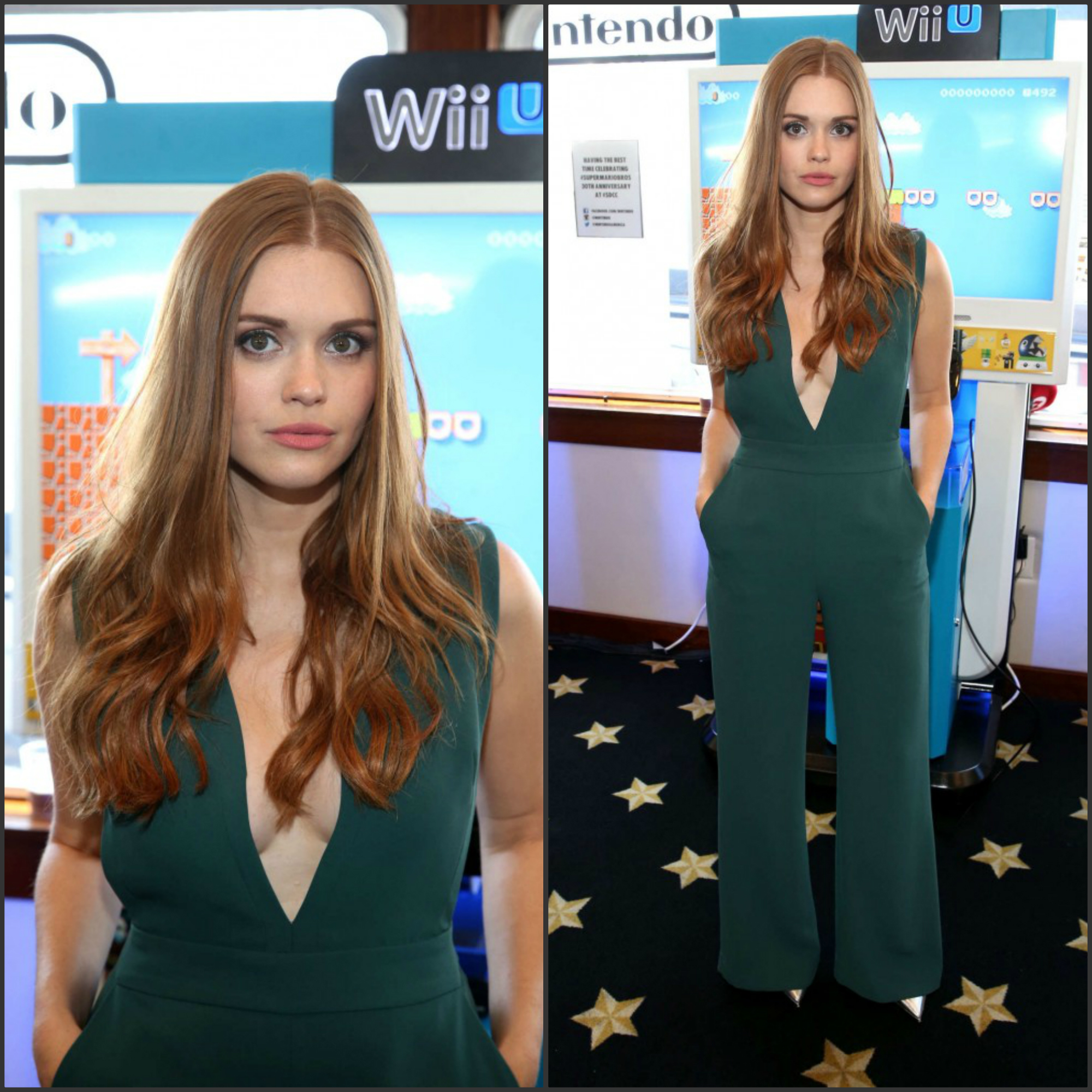 holland-roden-in-wai-ming-ninetendo-lounge-on-the-tv-guide-yacht-at-comic-con