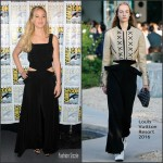 Jennifer Lawrence In Louis Vuitton  at  'The Hunger Games: Mockingjay – Part 2′ Comic-Con 2015 Panel
