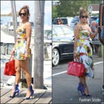 Jennifer Lopez  in Milly – Pre   46th Birthday Celebration