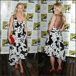 Jennifer Morrison  in Lela  Rose – Once Upon A Time Press Event at Comic Con