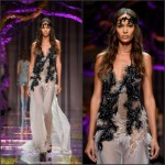 Joan Smalls – Atelier Versace Show, Paris Fashion Week Haute Couture Fall/Winter 2015/2016