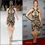 Judy Greer in Alexander McQueen at the 'Married' New York Series Premiere