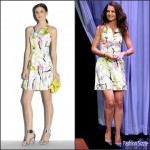 Katie Holmes In Milly  at The Tonight Show Starring Jimmy Fallon