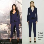 Katrina Kaif In Prabal Gurung  at 'Phantom' Trailer Launch