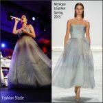 Katy Perry in Monique Lhuillier – 2015 Starkey Hearing Foundation 'So The World May Hear' Gala