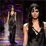 Kendall Jenner – Atelier Versace Show in Paris