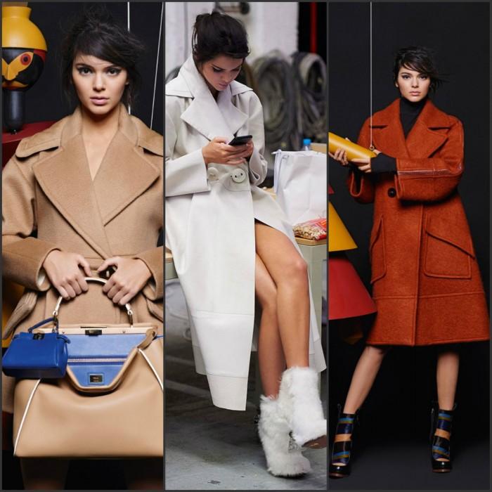 Kendall Jenner – Fendi Fall/Winter 2015 Ad Campaign