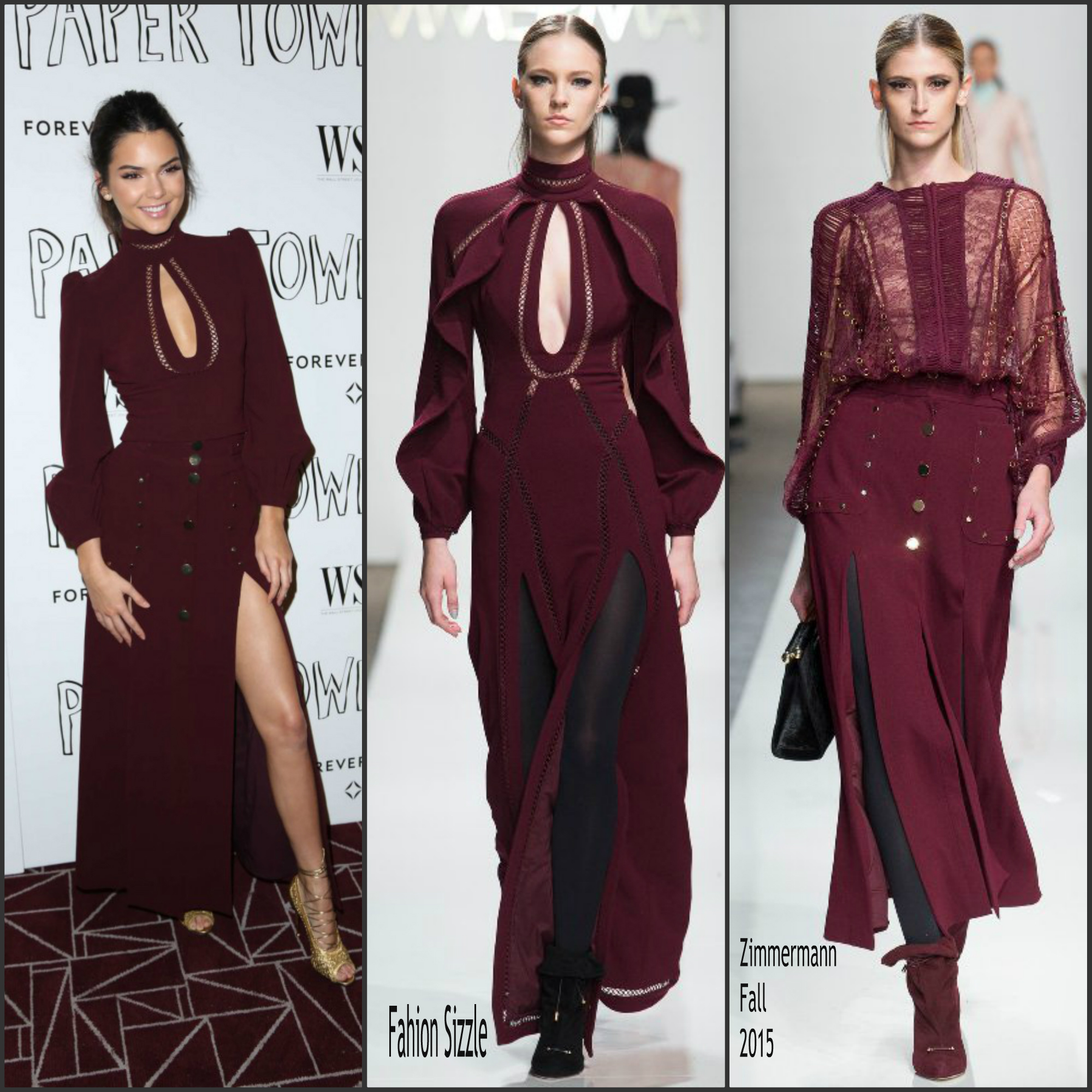 e1daaf06941 ... Out In Cannes 2017 · Kendall Jenner In Zimmermann at  Paper Towns  LA  Screening