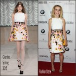 Kiernan Shipka In Giamba at  Los Angeles Confidential Women Of Influence Celebration