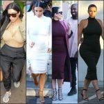 Kim Kardashian Pregnant Style