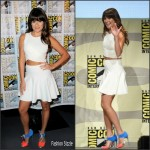 Lea Michele in Jonathan Simkhai – the Scream Queens panel at Comic-Con