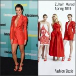 Lea Michele in Zuhair Murad -Entertainment Weekly Party at Comic-Con in San Diego