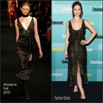 Lily James In  Altuzarra –  Entertainment Weekly's Annual Comic-Con Party