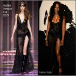 Naomi Campbell in Atelier Versace – The Leonardo DiCaprio Foundation 2nd Annual Saint-Tropez Gala