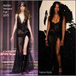 Naomi Campbell in Atelier Versace – The Leonardo DiCaprio Foundation 2nd Annual Saint-Tropez Gala