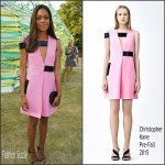 Naomie Harris In Christopher Kane  at The Serpentine Gallery Summer Party