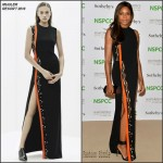 Naomie Harris in Mugler at the NSPCC Neo-Romantic Art Gala