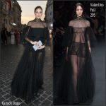 Olivia Palermo   in Valentino  at Mirabilia Romae Fall 2015 Couture