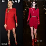 Petra Nemcova  in Elie Saab at Elie Saab Fall/Winter 2015/2016 Show
