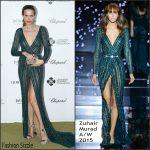 Petra Nemcova in  Zuhair Murad Couture  – Leonardo DiCaprio Foundation 2nd Annual Saint-Tropez Gala