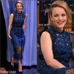 Rachel McAdams in Self-Portrait on 'The Tonight Show Starring Jimmy Fallon'