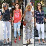 Reese Witherspoon, Eva Longoria , Zendaya ,Emma Stone , and more Streetstyle