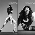 Rihanna  in  New Puma Forever Faster  Ad Campaign Shoot